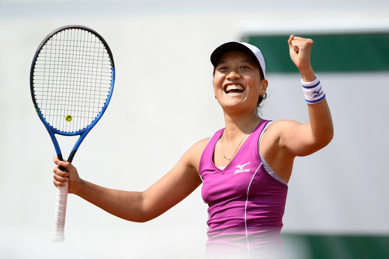 Roland-Garros 2018, Harmony Tan, qualifications