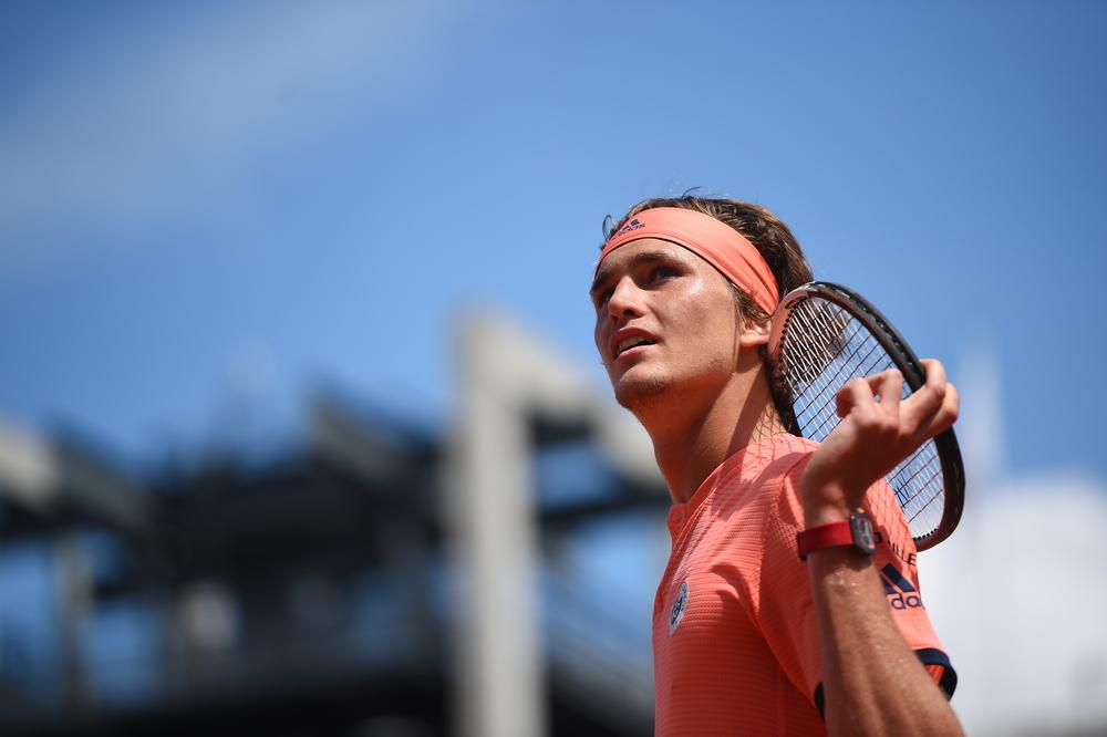 Alexander Zverev Roland-Garros 2018