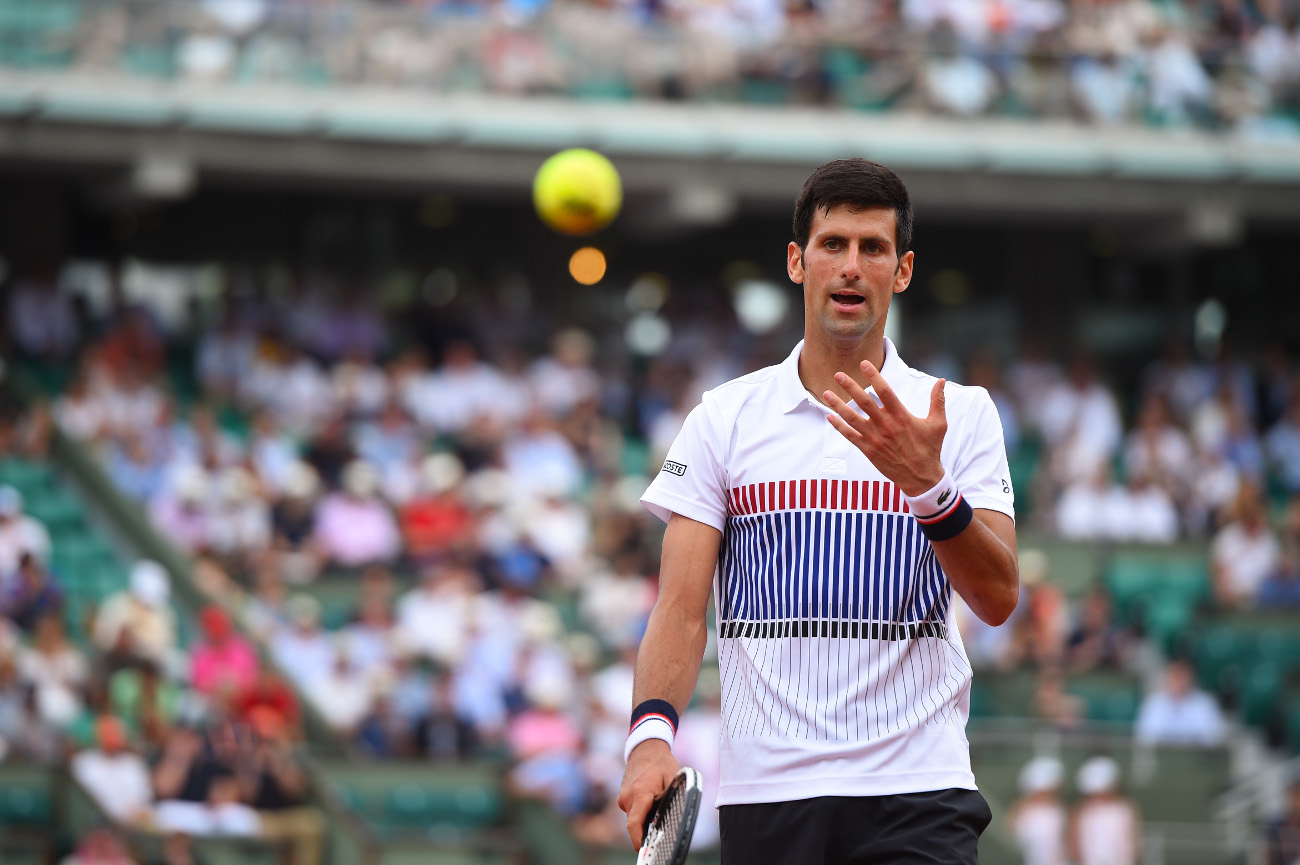 Novak Djokovic Roland-Garros 2017 French Open.