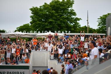 court n°18 Roland-Garros 2018.