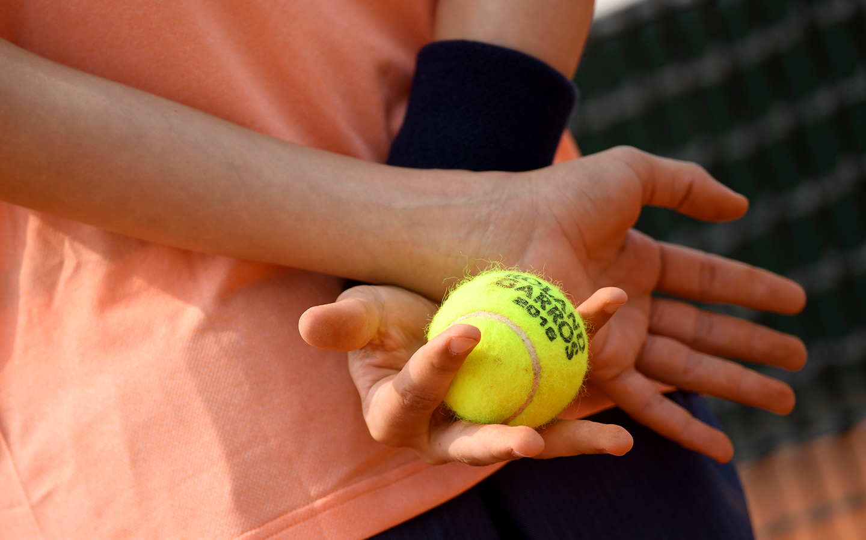 Roland-Garros 2018, ramasseur de balles, ball boy, balle, ball