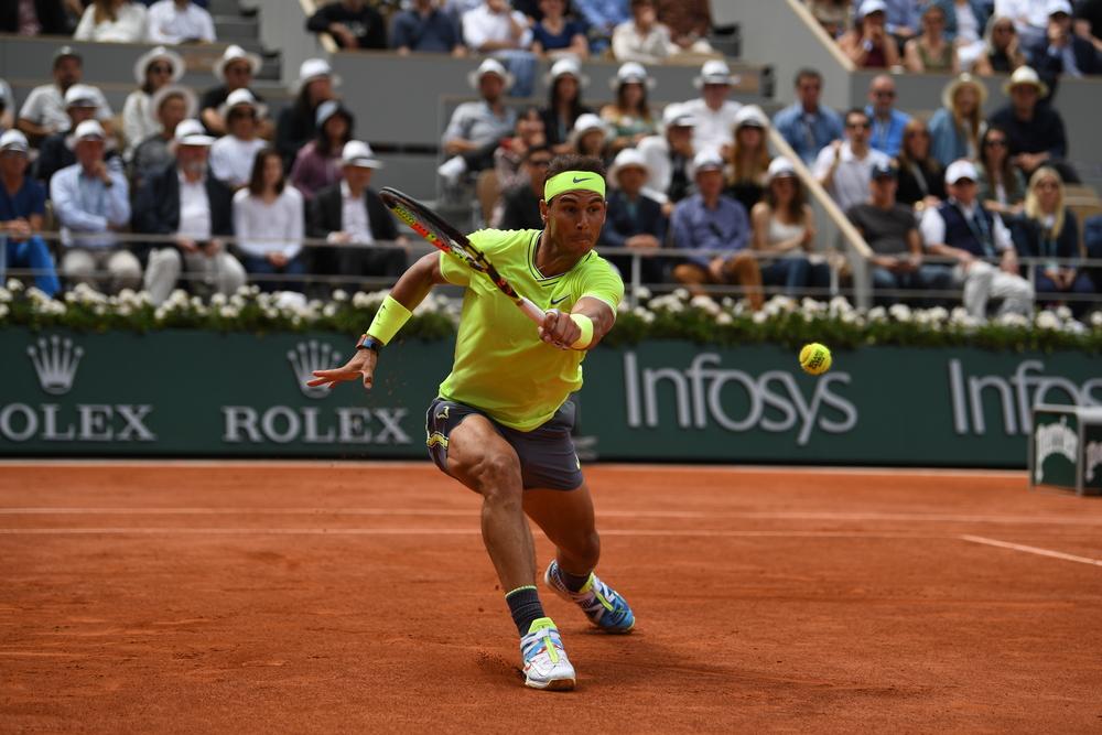 Rafael Nadal Roland-Garros 2019 volée