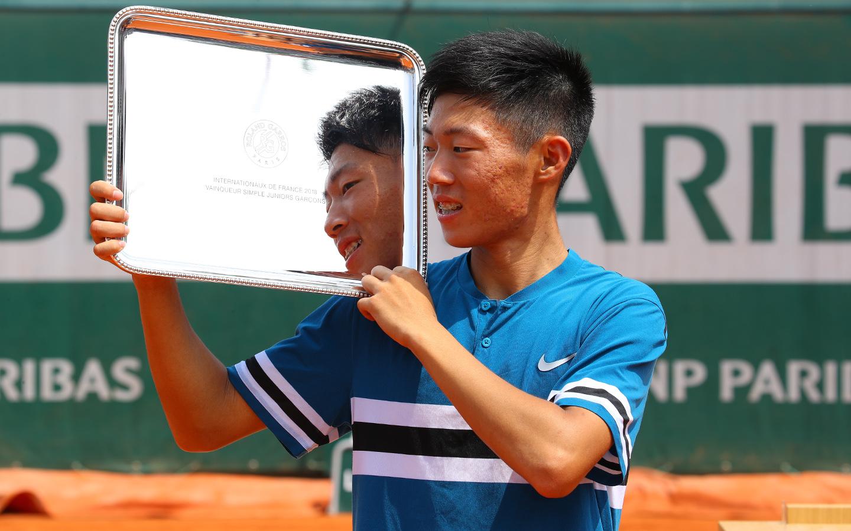 Chun Hsin Tseng, Simple garçons Roland-Garros 2018