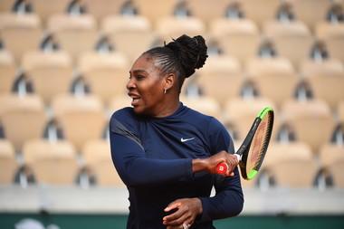 Roland-Garros 2018, Serena Williams, entraînement, training