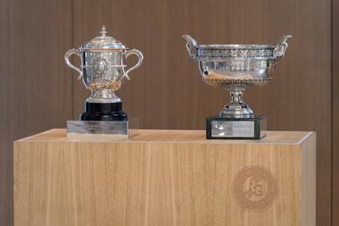 Présentation trophées Roland-Garros 2019