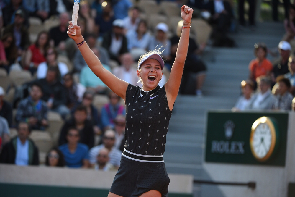 Amanda Anisimova Roland Garros 2019