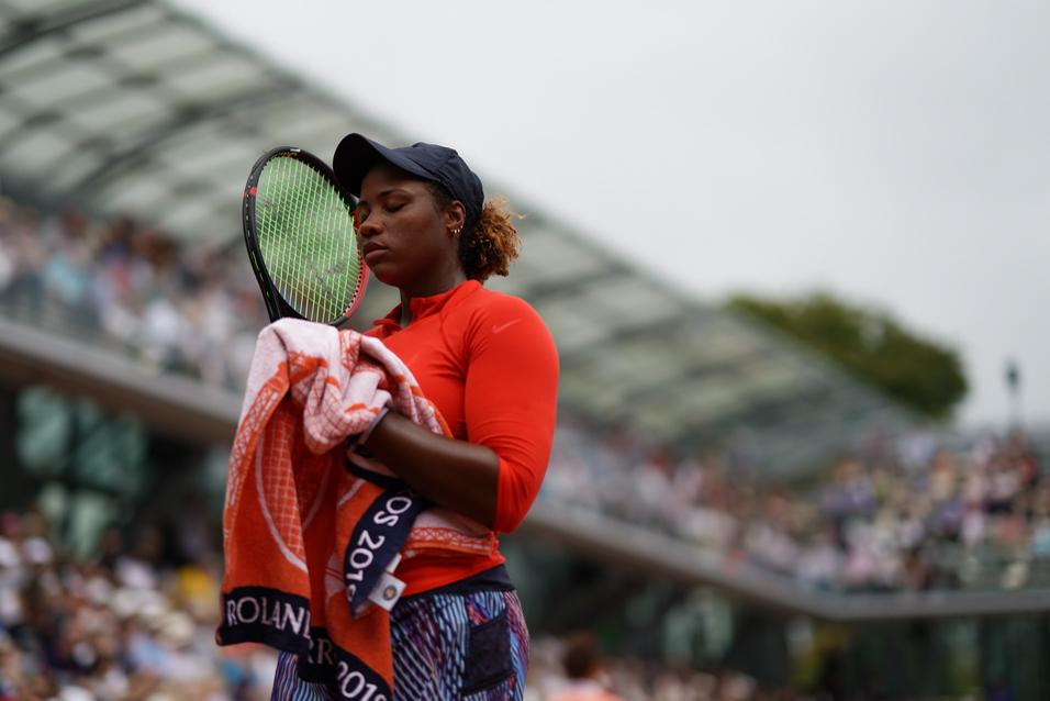 Roland-Garros 2019 - Court Simonne-Mathieu - Taylor Townsend