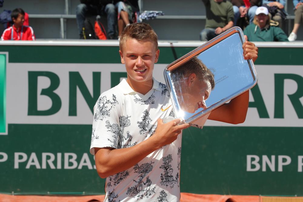 Rune boys' singles champion Roland Garros 2019