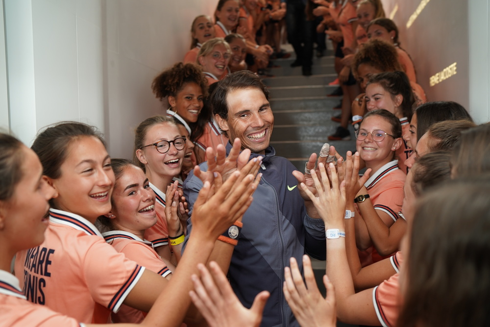 Rafael Nadal ballkids Roland Garros final 2019