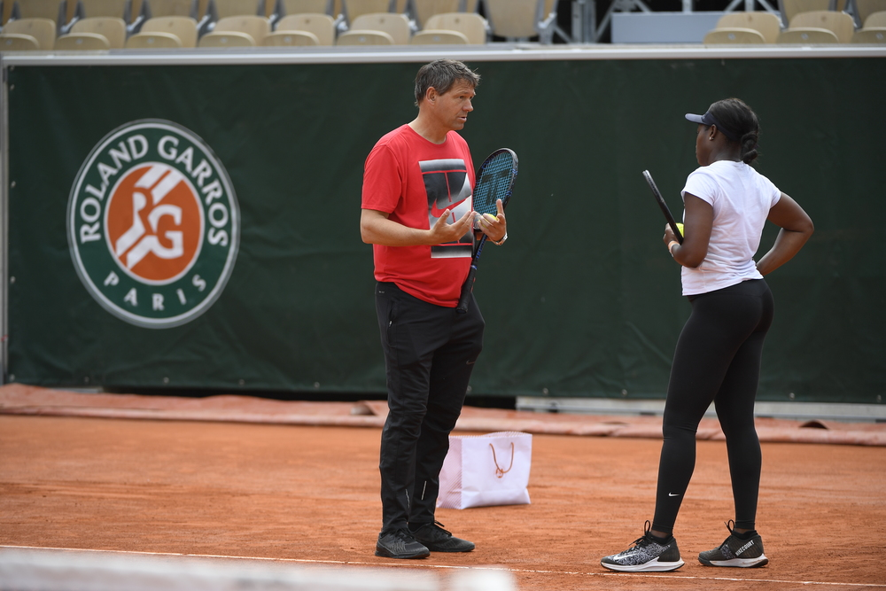 sloane stephens coaching change
