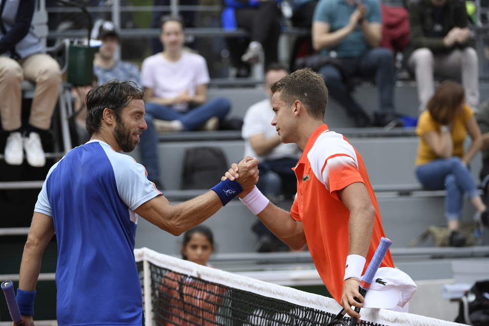 Lorenzi falls to France's Couacaud