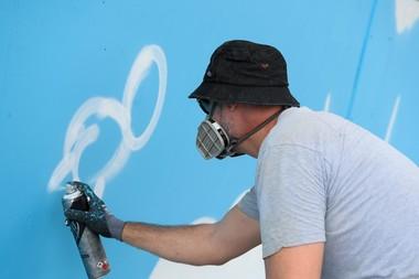 Roland-Garros 2018, Jace, street art, graffiti, fresque