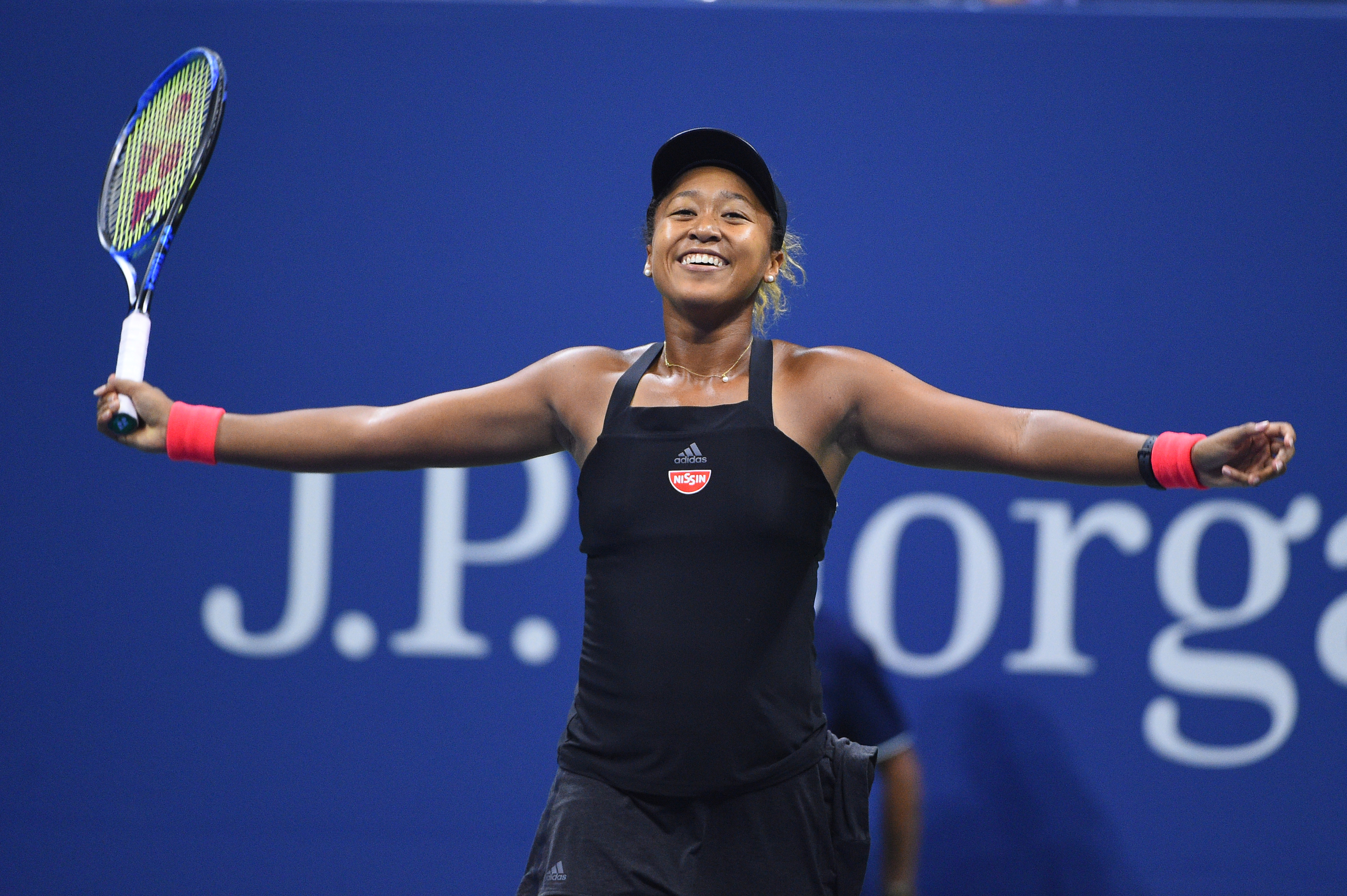 All smile for Naomi OSaka at the 2018 US Open