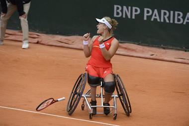 Diede De Groot, Roland Garros 2019, Simple Dames Tennis Fauteuil, Finale,