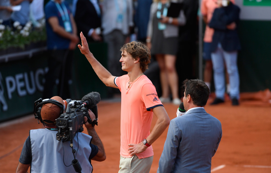 Zverev makes statement of intent - Roland-Garros - The 2018 French