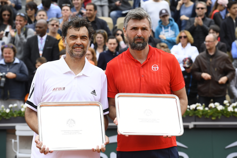 Sergi Bruguera and Goran Ivanisevic