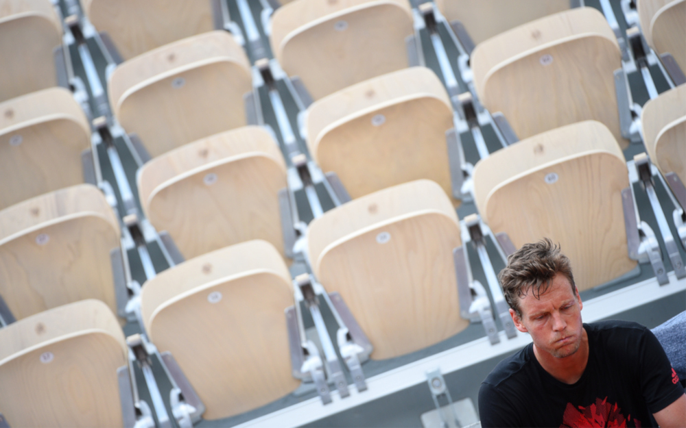 Roland-Garros 2018, Tomas Berdych, entraînement, practice