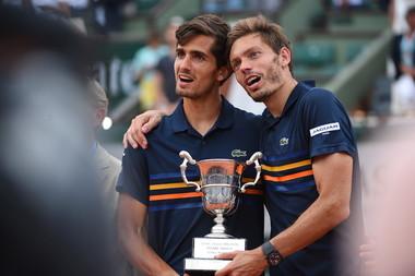 Nicolas Mahut Pierre-Hugues Herbert Roland-Garros 2018.