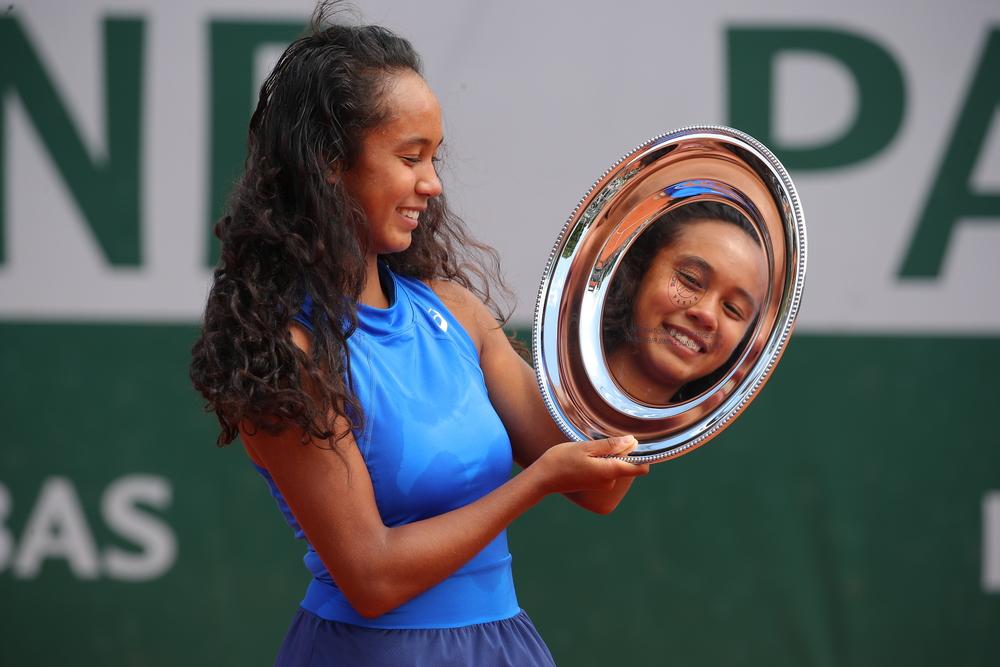 Leylah Annie Fernandez girls champion Roland Garros 2019