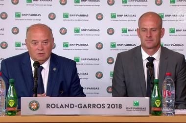 Roland-Garros 2018, Bernard Giudicelli