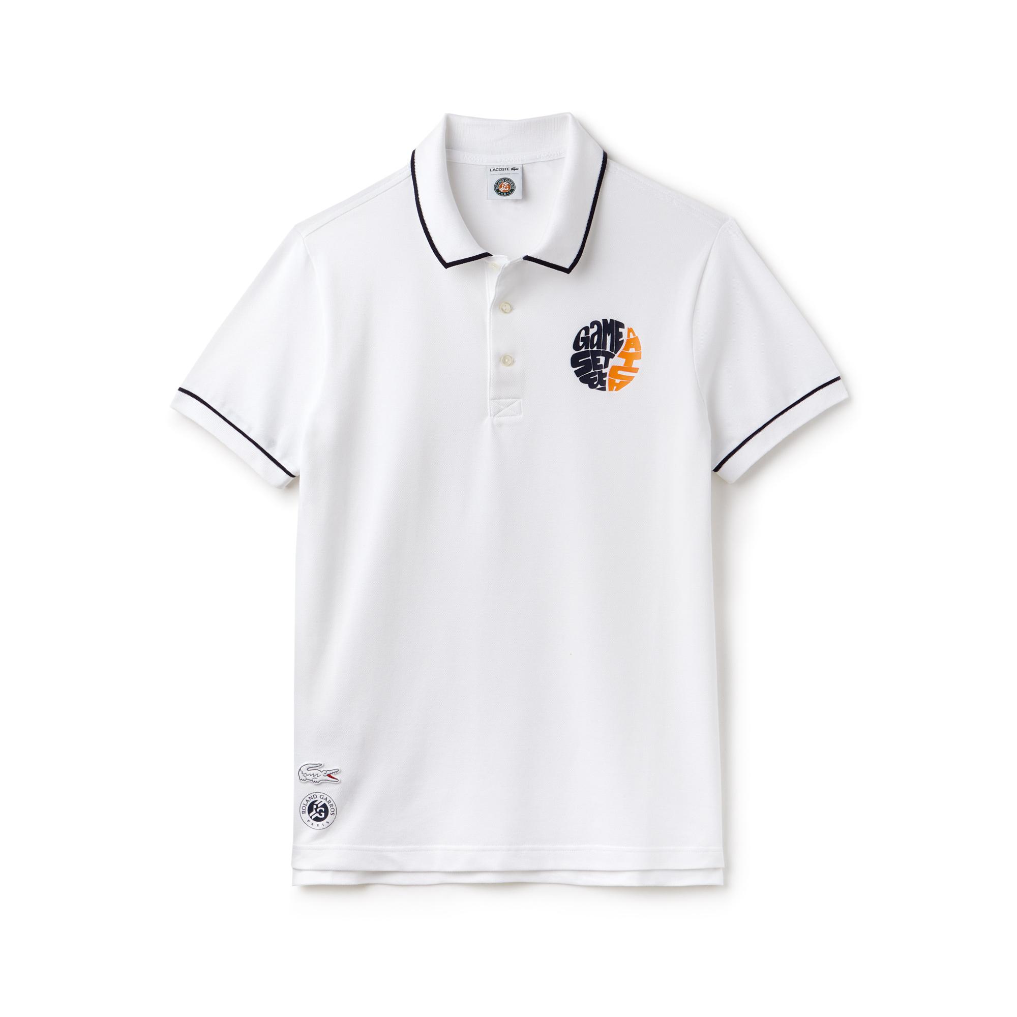 Polo game set match Lacoste x Roland-Garros / sportswear Roland-Garros
