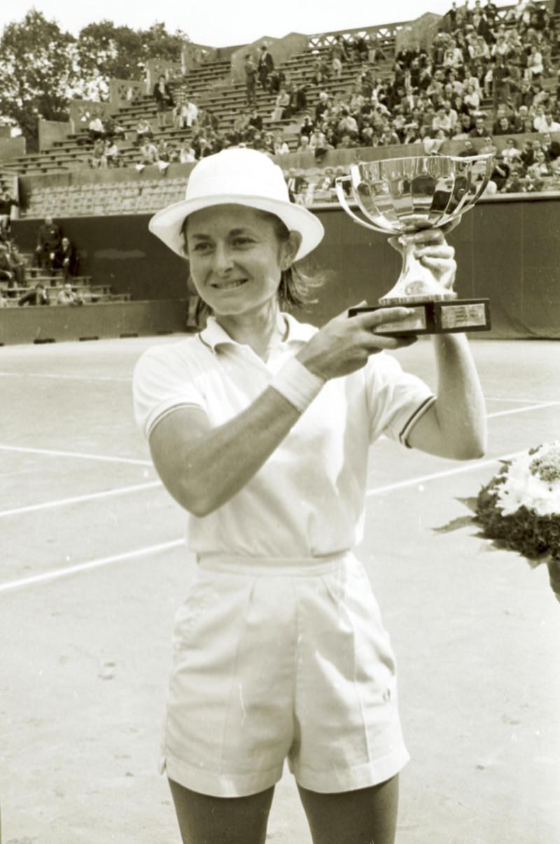 Nancy Richey Roland-Garros 1968.