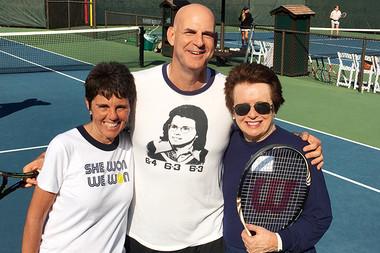 Harlan Coben meets Billie Jean King and Ilana Kloss