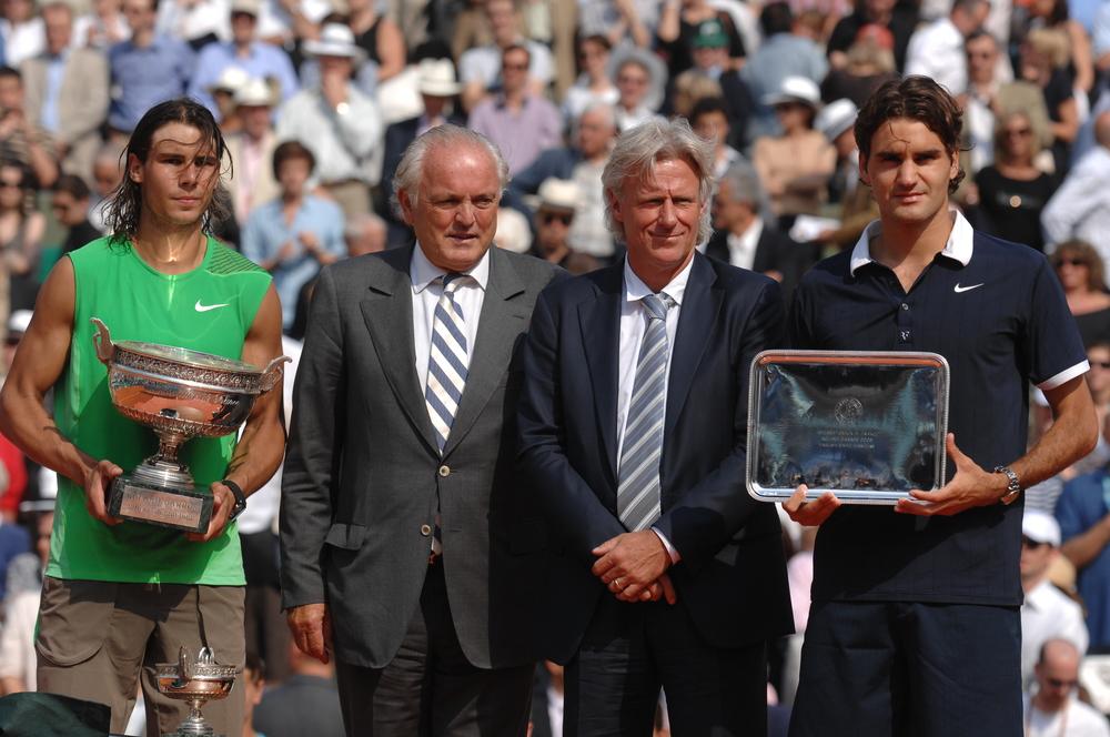 2008 roland garros final trophy nadal federer borg