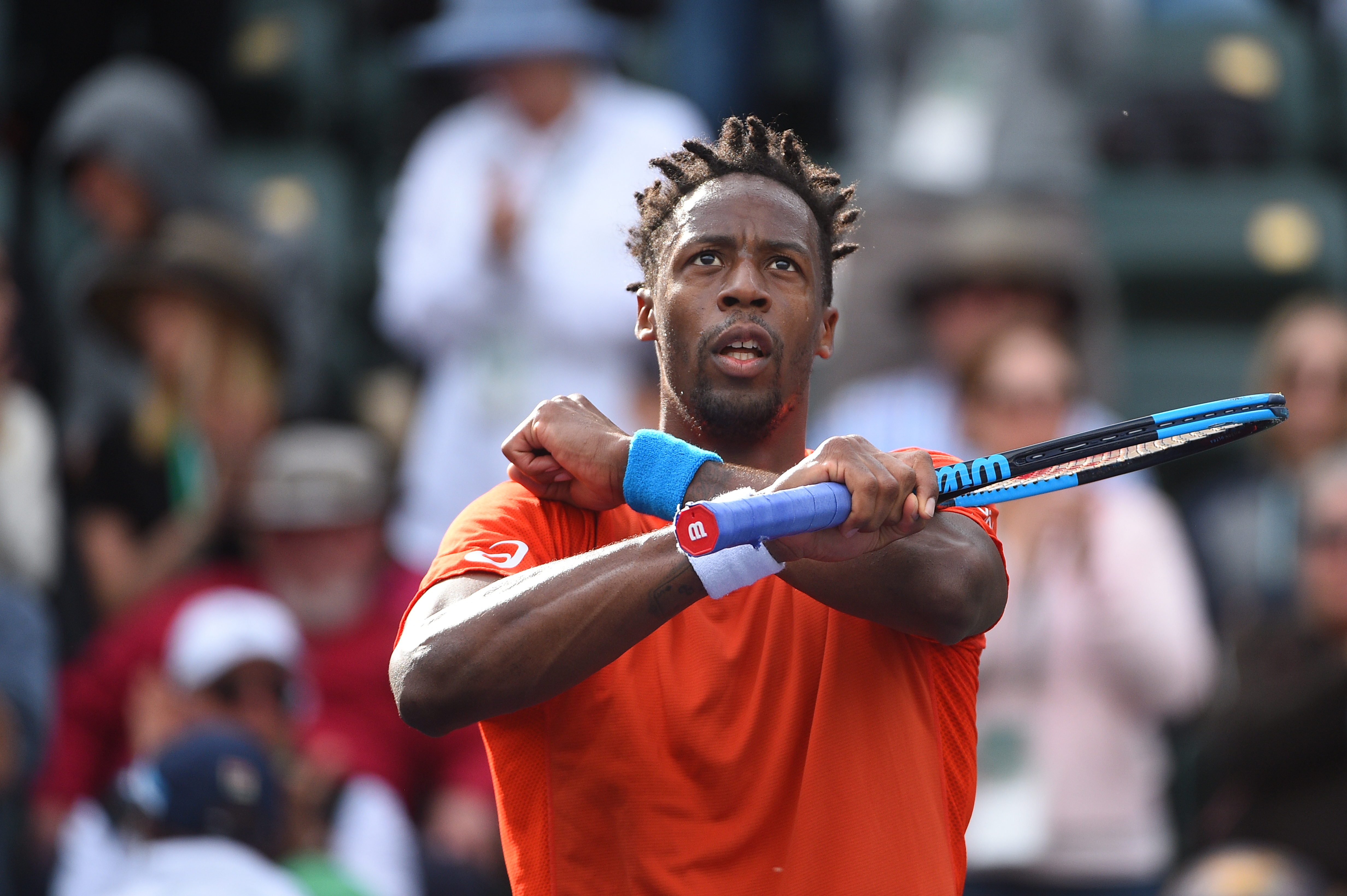Soldier Monfils, yes sir!