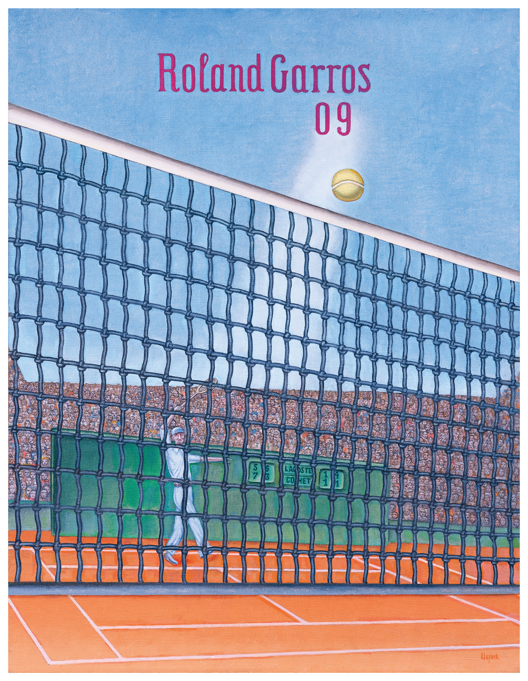 poster art at the french roland garros the 2018 french open official site. Black Bedroom Furniture Sets. Home Design Ideas