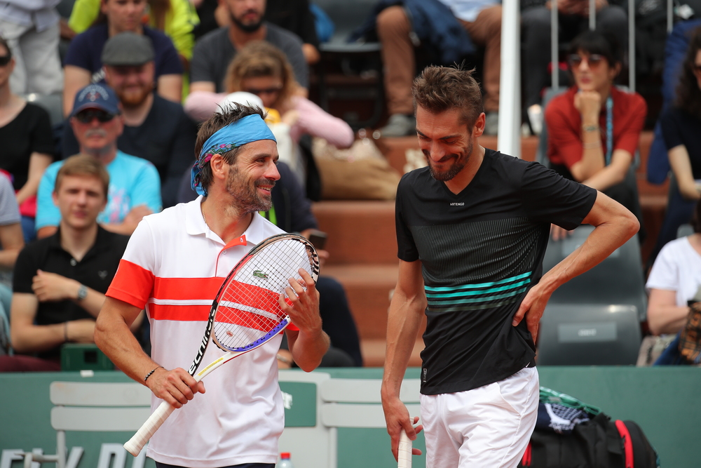 Clement Roland Garros 2019 legends